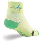 SockGuy Womens Frog Legs Socks