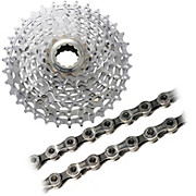 Shimano XT M770 9sp Cassette + Chain Bundle