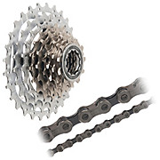 Shimano SLX HG80 9sp Cassette + Chain Bundle