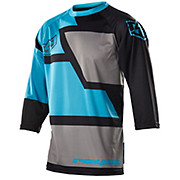 Royal Drift 3-4 Jersey - Black-Blue 2015