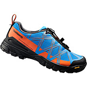 Shimano MT54 MTB SPD Shoes - Blue-Orange