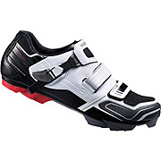 Shimano XC51 MTB SPD Shoes - Black-White 2017