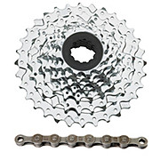 SRAM PG730 7sp MTB Cassette + Chain Bundle