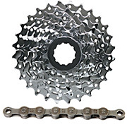 SRAM 8 Speed MTB Cassette + Chain Bundle