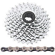 SRAM 9 Speed Road Cassette + Chain Bundle