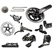 Shimano XTR M9050 Di2 11 Speed Triple Groupset