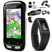 Garmin Edge 1000 Bundle + FREE Black Vivofit
