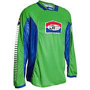 JT Racing Pro Tour Jersey - Green-Blue 2012