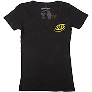 Troy Lee Designs Perfection Womens V-Neck Tee 2014