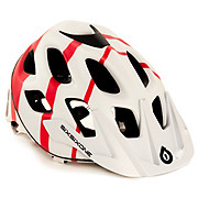 661 Recon Stryker Helmet - White-Red 2015