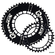 Rotor Q-Ring Oval Aero Road Chainring Set