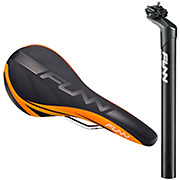 Funn Block Pass Seatpost + Saddle Bundle
