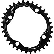 BLACK by Absoluteblack Narrow Wide Oval Single Chainring