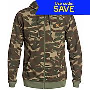 DC Overseas Camo Zip Hoodie SS15