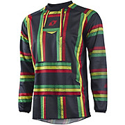 One Industries Atom Jersey Rasta Poncho - Black 2015