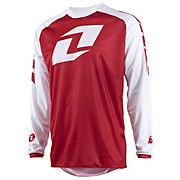 One Industries Atom Lite Icon Jersey - White-Red 2015
