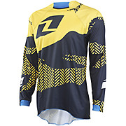 One Industries Gamma Jersey Blamo - Black-Yellow