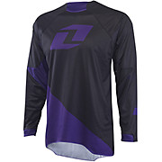 One Industries Gamma Jersey Solid - Black-Purple 2015