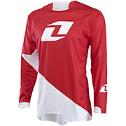 One Industries Gamma Jersey Solid - Red-White 2015