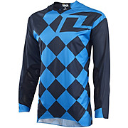 One Industries Vapor Jersey Jockey - Black-Cyan 2015