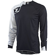 One Industries Vapor Jersey Solid - Black-Grey 2015