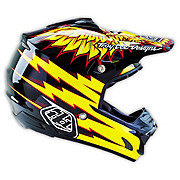 Troy Lee Designs SE3 Flight Helmet - Black-Yellow 2016
