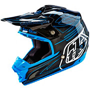 Troy Lee Designs SE3 Double Shot Helmet - Black Carbon 2016