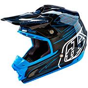Troy Lee Designs SE3 Double Shot Helmet - Black Carbon 2016