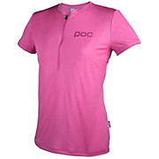 POC Womens Trail Light Zip Tee