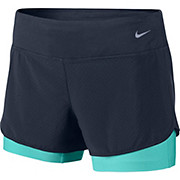 Nike Womens Perforated Rival 2-in-1 Shorts SS15