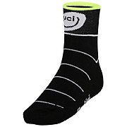Santini UCI Rainbow Fashion Coolmax Socks 2015