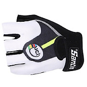 Santini UCI Rainbow Fashion Race Mitts 2015