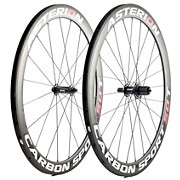 Asterion Carbon Sport 50T Tubular Road Wheelset 2015