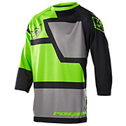Royal Drift 3-4 Jersey - Black-Lime 2015