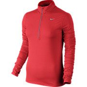 Nike Womens Element Half Zip Long Sleeve Top SS16