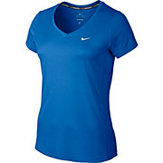 Nike Womens Miler V-Neck Short Sleeve Top AW15