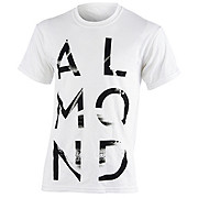 Almond Space Letters Tee