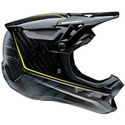 100 Aircraft Carbon DH Helmet - Raw Black