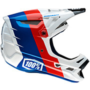 100 Aircraft Carbon DH Helmet - R8 White