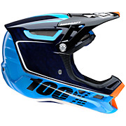 100 Aircraft Carbon DH Helmet - BiTurbo Blue