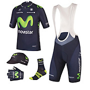 Endura Movistar Team Kit Clothing Bundle 2015