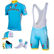 Nalini Astana Team Kit Clothing Bundle 2015