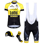 Santini Lotto Jumbo Team Kit Clothing Bundle 2015