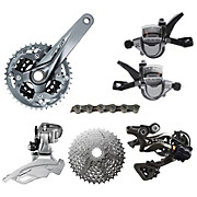 Shimano Alivio 9 Speed Groupset Builder