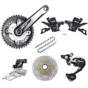 Shimano SLX 10 Speed Groupset Builder