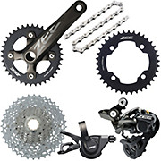 Shimano Zee 10 Speed Groupset Builder