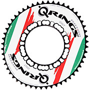 Rotor Q-Ring Oval Chainring - Flag Edition