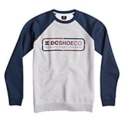 DC 3 Two 1 Crew Raglan AW15