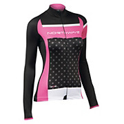 Northwave Womens Long Sleeve Logo Jersey AW15