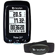 Bryton Rider 20+T GPS Cycle Computer Combo+HRM